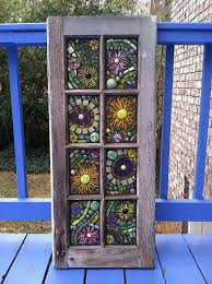 stained glass mosaic window by leann