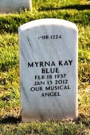 Myrna Kay Adams Blue (1937-2012) - Find A Grave Memorial