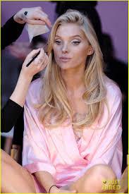 victoria secret models makeup before