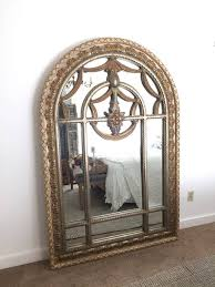 large arched mirror wall hanging mirror