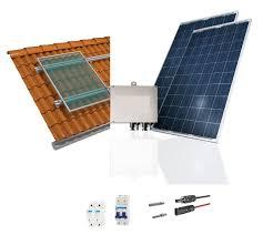 Kit completo de energia solar de 3,40 kWp - Materiais de ...