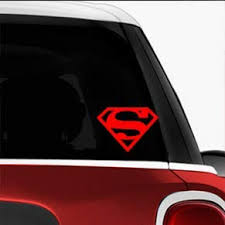 Amazon Com Superman Shield Sci Fi Comics Games Automotive Decal Bumper Sticker Automotive
