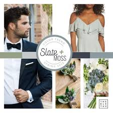 spring wedding color trends of 2018