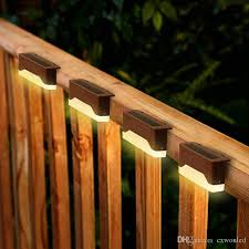 2020 Solar Fence Cap Light 16 Pack Bronze Fence Post Light Waterproof Solar Step Light For Patio Stairs Garden Pathway From Cxwonled 15 44 Dhgate Com