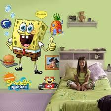 Spongebob Squarepants Themed Room Design Digsdigs Kids Room Wall Decor Kid Room Decor Cool Kids Rooms