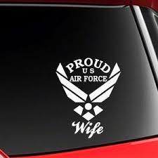 Air Force Nana Vinyl Car Decal Sticker 6h Etsy