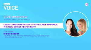 Grow Consumer Interest with Flash Briefings, the New Direct Response TV  with Wendi Cooper - YouTube