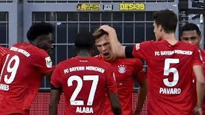 LIVE: Bayern Munich v Fortuna Dusseldorf