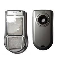 Housing for Nokia 6630 silver panel ...