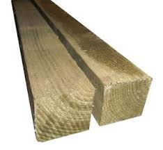 Timber Fence Posts 3x3 Tanalised Posts A51 Sheds Fencing