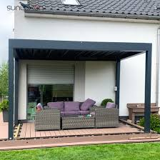 sun roof opening roof louver design