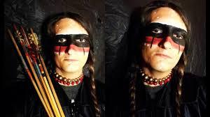 tribal native american makeup tutorial