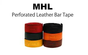 mhl perforated leather bar tape m h l