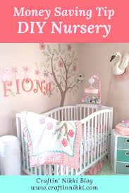 Beautiful Ways To Save Money When Decorating Your Nursery Craftin Nikki Craft Blog Handmade Shop Pittsburgh Nursery Kids Bedroom Decor Nursery Colors