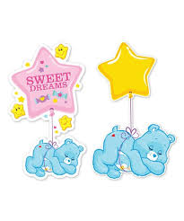 Care Bears Care Bear Bedtime Bear Wall Decal Set Best Price And Reviews Zulily