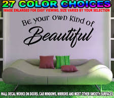 Be Your Own Kind Of Decals Flower Vine Wall Sticker 11 X 22 For Sale Online Ebay