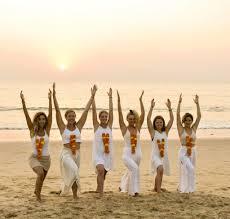best yoga retreats in goa kerala india