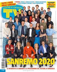 Sanremo 2020: tutti i testi su TV Sorrisi e Canzoni del 28 gennaio ...