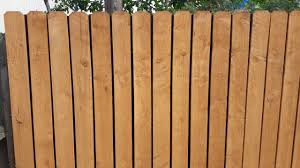 Cover Gap On Wood Fence Youtube
