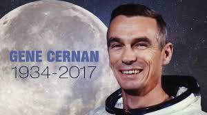 NASA announces Gene Cernan, last man to walk on the moon, has died ...