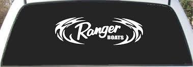 Amazon Com Ranger Bass Boats Tribal Window Decal Sticker 9 Tall X 24 Wide Automotive