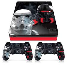 Star Wars Ps4 Slim Console Controller Skin Empire Troopers