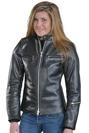 villainess womens leather motorcycle jacket