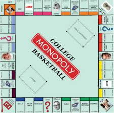 College Basketball Monopoly Board ...
