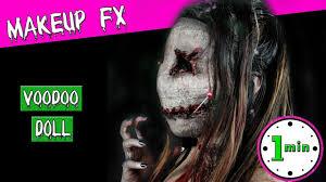 ellimacs sfx voodoo doll makeup