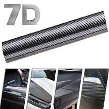 Carbon Fiber Sticker 7d Car Decal Stickers Waterproof Vinyl Decal For Car Carbon Fibre Car Wrap Car Decals Auto Accessories Wish