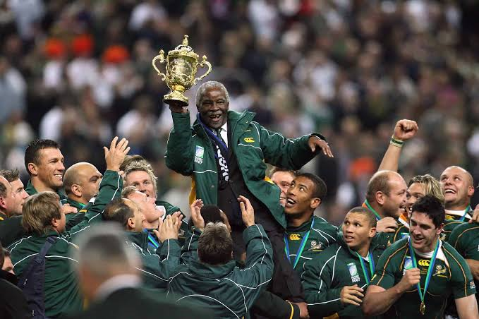 Image result for ramaphosa south africa world cup""