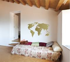World Map Wall Decals The Decal Guru