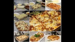 Lasanya nasil yapilir Lazanya tarifi italienische lasagne rezept ...