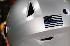 Chrome Us Flag Helmet Decal Green Gridiron Inc