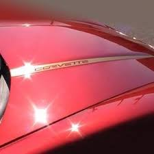 Corvette Hood Stripes Decals 2005 2013 C6 Free Shipping Corvetteguys Com