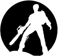 Amazon Com Evil Dead Army Of Darkness Cult Classic Movie 5 5 Ash Moon Silhouette Logo Vinyl Stickers Symbol Decorative Die Cut Decal For Cars Tablets Laptops Skateboard Black Computers Accessories