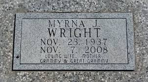 Flowers for Myrna Joan Schmidt Wright - Find A Grave Memorial