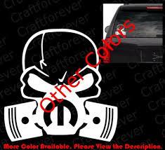 Die Cut Skull Mask Mopar Window Vinyl Sticker Decals Punisher Hemi Jeep Rc020 Auto Parts And Vehicles Car Truck Graphics Decals Magenta Cl