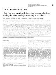 cost free and susnable incentive
