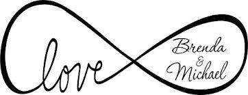 com quote it personalized custom love infinity