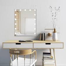 hang wall mounted vanity makeup mirror