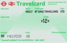 london travel card visitor oyster card