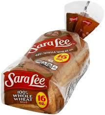 sara lee 100 whole wheat bread 16 oz