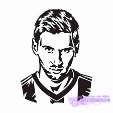 Lionel Messi Football Player Sticker Sports Soccer Car Decal Helmets Kids Room Posters Vinyl Wall Decals Wall Stickers Aliexpress