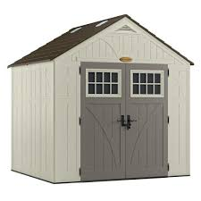 8 ft shed with foundation 00224 1m