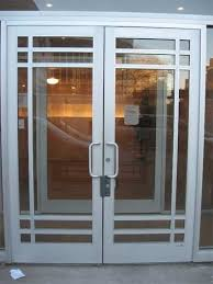 glass doors aluminium door design