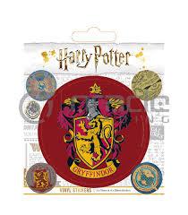 Harry Potter Gryffindor Vinyl Sticker Pack Oracle Trading Inc