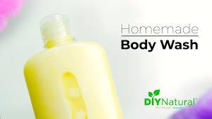 a natural moisturizing diy body wash