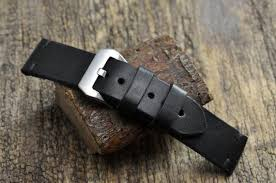 handmade leather mens watch strap 18 mm