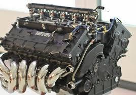 ultimate art ferrari formula 1 v12 engine